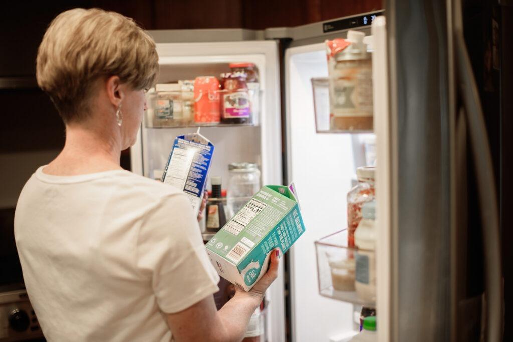 milk refrigerator diet